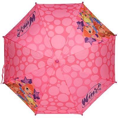 Зонт-трость Winx ClubДетские зонты<br>Зонт-трость Winx Club<br>