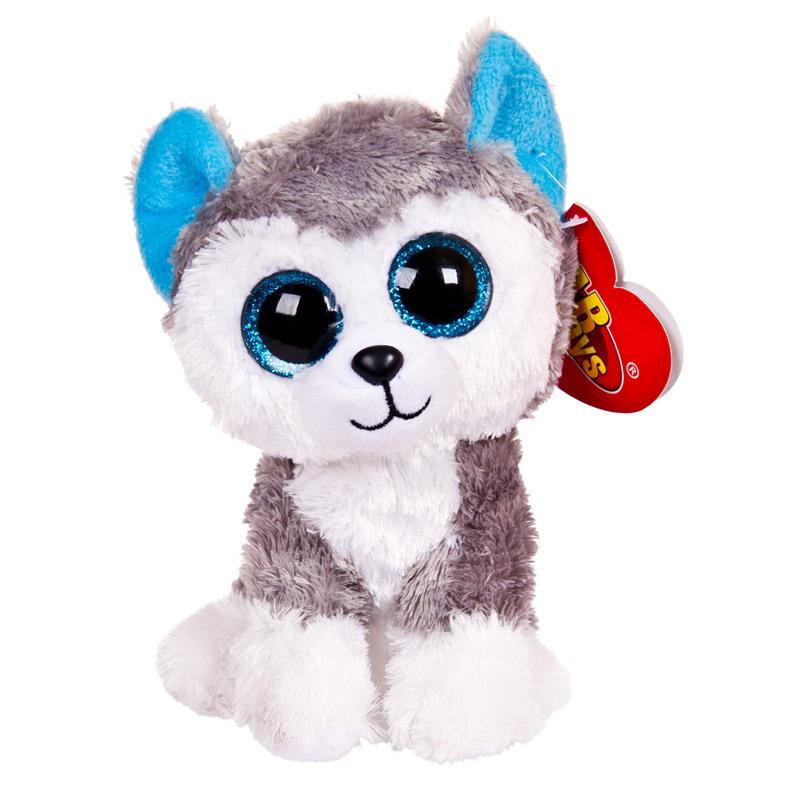 Купить Мягкая игрушка – Собачка хаски, 15 см, ABtoys