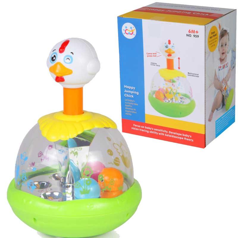 Детская механическая игрушка - Утка-каруселькаЮла и карусель<br>Детская механическая игрушка - Утка-каруселька<br>