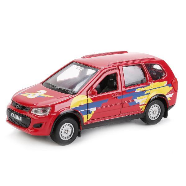 Инерционная металлическая машина - Lada Kalina Спорт, 12 см, Технопарк  - купить со скидкой
