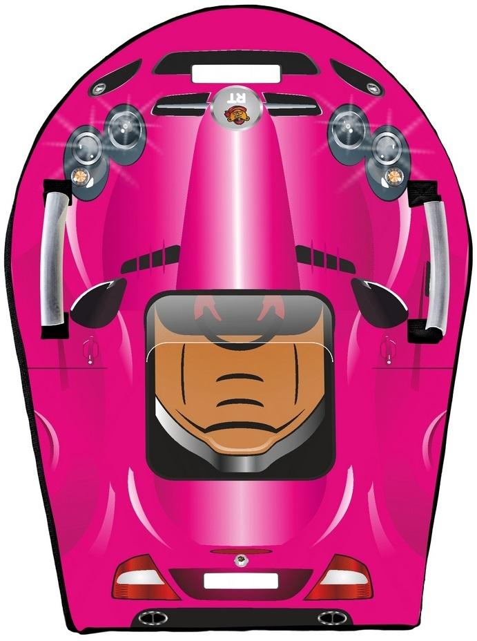 Ледянка Snow auto SLR MClaren, цвет розовый - Зимние товары, артикул: 148479