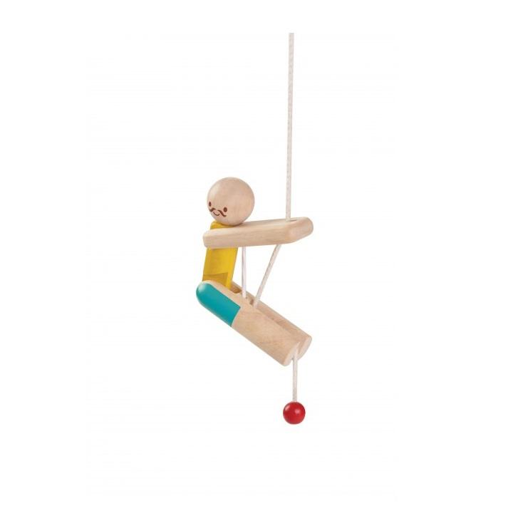 Деревянная игрушка - Акробат на канатеРазное<br>Деревянная игрушка - Акробат на канате<br>