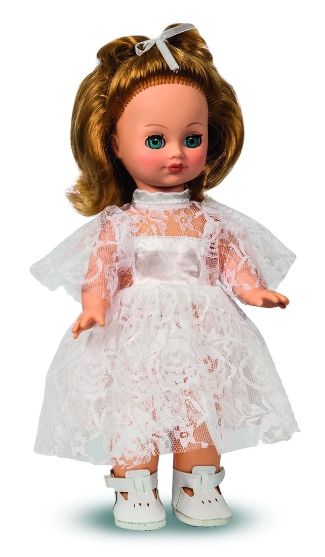 Кукла Лена 1 со звуком, 35 смРусские куклы фабрики Весна<br>Кукла Лена 1 со звуком, 35 см<br>