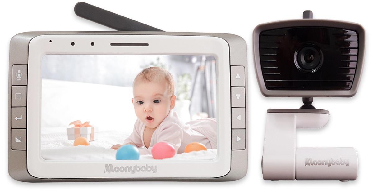 Купить Цифровая видеоняня Moonybaby 55935, дисплей 12, 7 см.