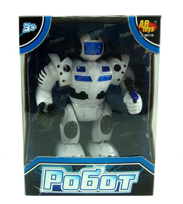 Электромеханический игрушечный робот ) - Роботы, Воины, артикул: 112554
