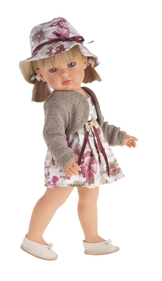 Кукла Белла в шляпке, блондинка, 45 см.Куклы Антонио Хуан (Antonio Juan Munecas)<br>Кукла Белла в шляпке, блондинка, 45 см.<br>