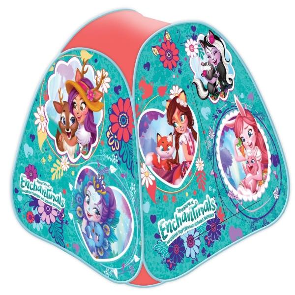 Купить Палатка детская игровая из серии Enchantimals, размер 81 х 90 х 81 см., в сумке, Играем вместе