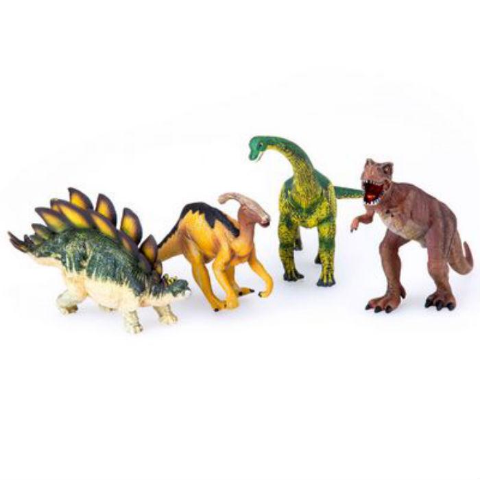 Набор Animal Planet – Динозавры, 4 штукиЖизнь динозавров (Prehistoric)<br>Набор Animal Planet – Динозавры, 4 штуки<br>