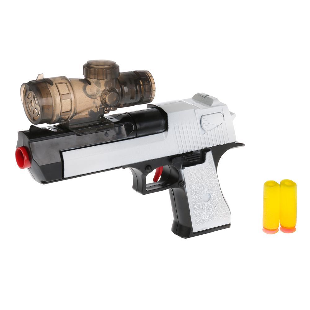 Купить со скидкой Пистолет с мягкими и гелевыми пулями
