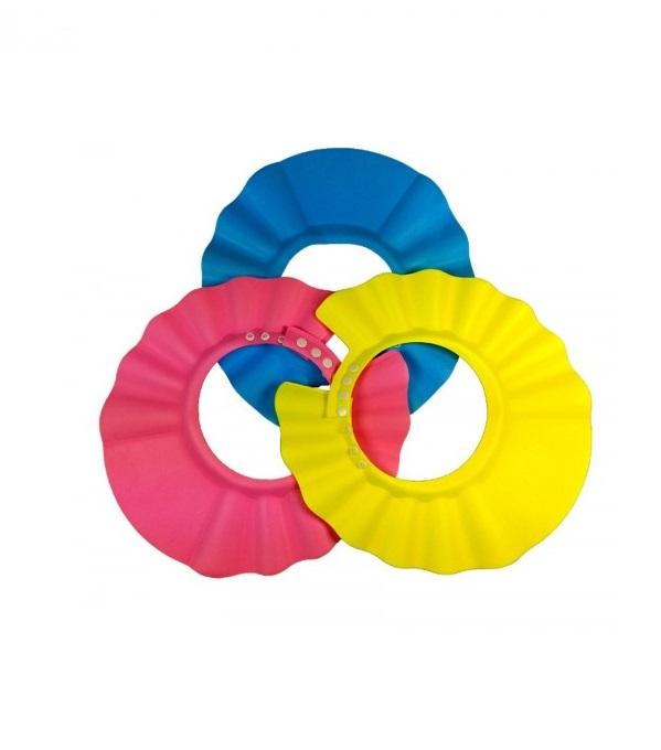 Детский козырек дл душа, 3 цветазащита<br>Детский козырек дл душа, 3 цвета<br>