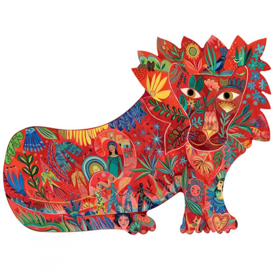 Купить Пазл – Тигр, 150 деталей, Djeco