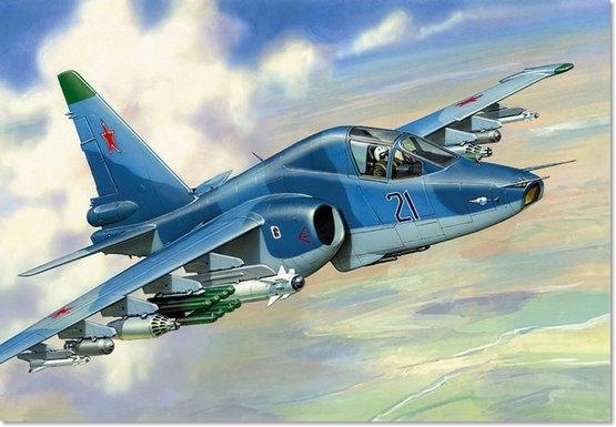 Подарочный набор. Модель для склеивания  Самолёт СУ-39 - Модели для склеивания, артикул: 98681