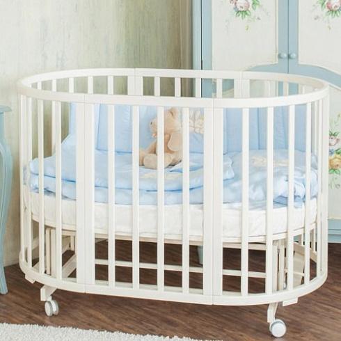 Комплект в кроватку - Leprotti 6 предметов, бирюзовыйДетское постельное белье<br>Комплект в кроватку - Leprotti 6 предметов, бирюзовый<br>