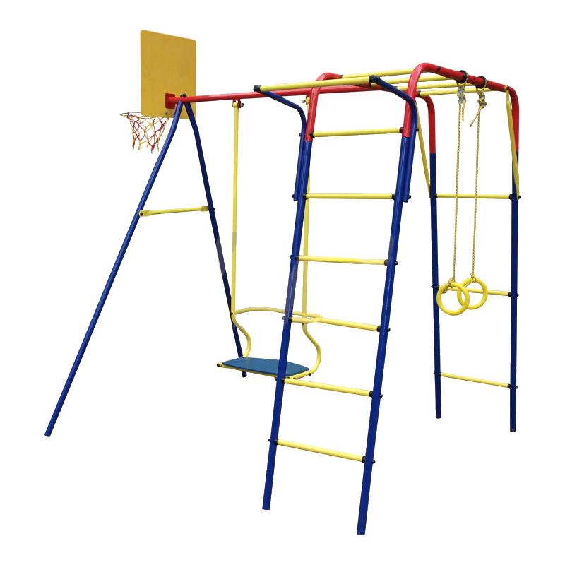 Детский спортивный комплекс Пионер-дачный Юла ТК, с металлическими качелями фото