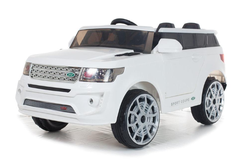 Электромобиль ToyLand Range BBH 118 белого цвета  - купить со скидкой