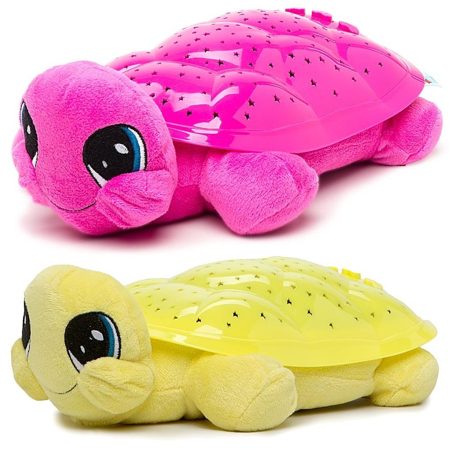 Мягкая игрушка  Мульти-Пульти  Черепаха музыкальная проектор-ночник, 3 колыбельные - Музыкальные ночники и проекторы, артикул: 119985