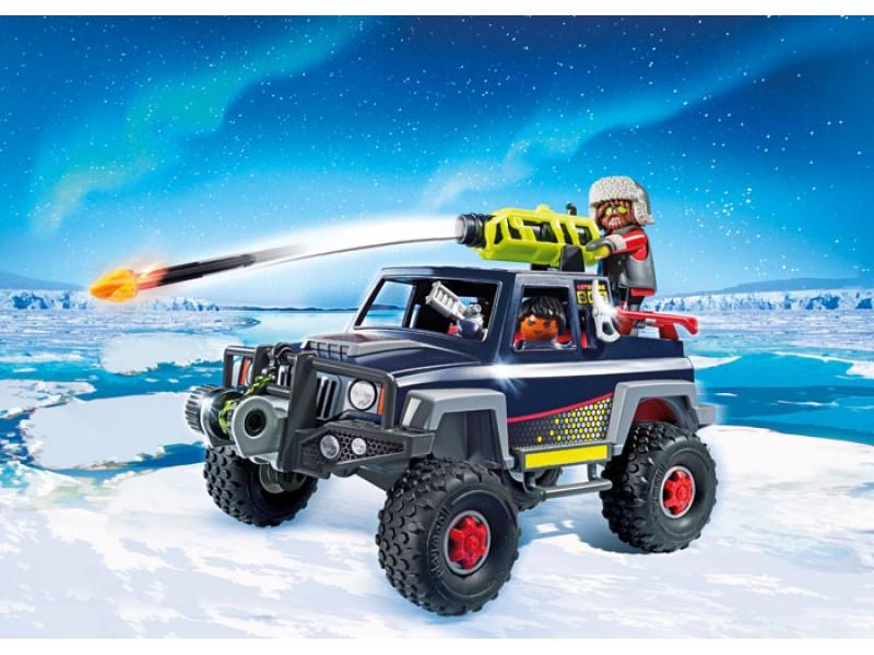 Купить Игровой набор – Полярная экспедиция: Ледяной пират со снежным грузовиком, Playmobil