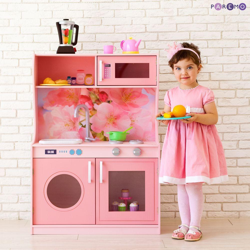 Купить Игрушечная кухня - Фиори Роуз Мини, Paremo