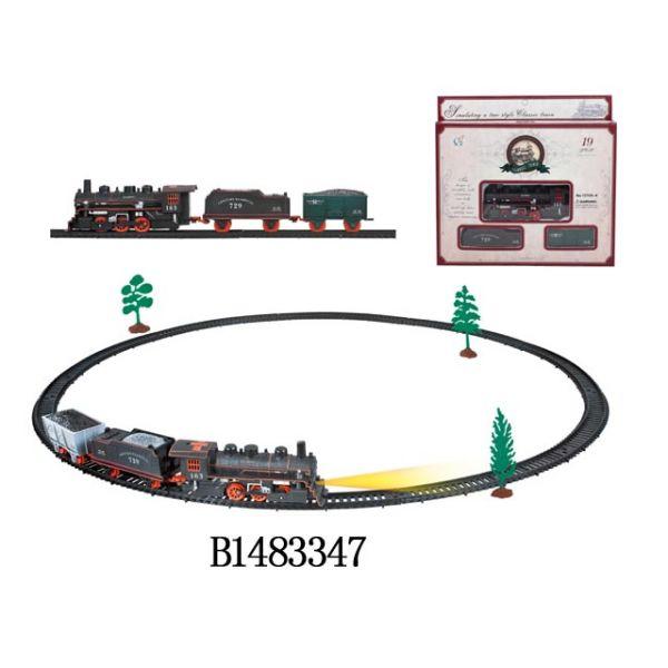 Железная дорога со световыми эффектами и аксессуарамиДетская железная дорога<br>Железная дорога со световыми эффектами и аксессуарами<br>