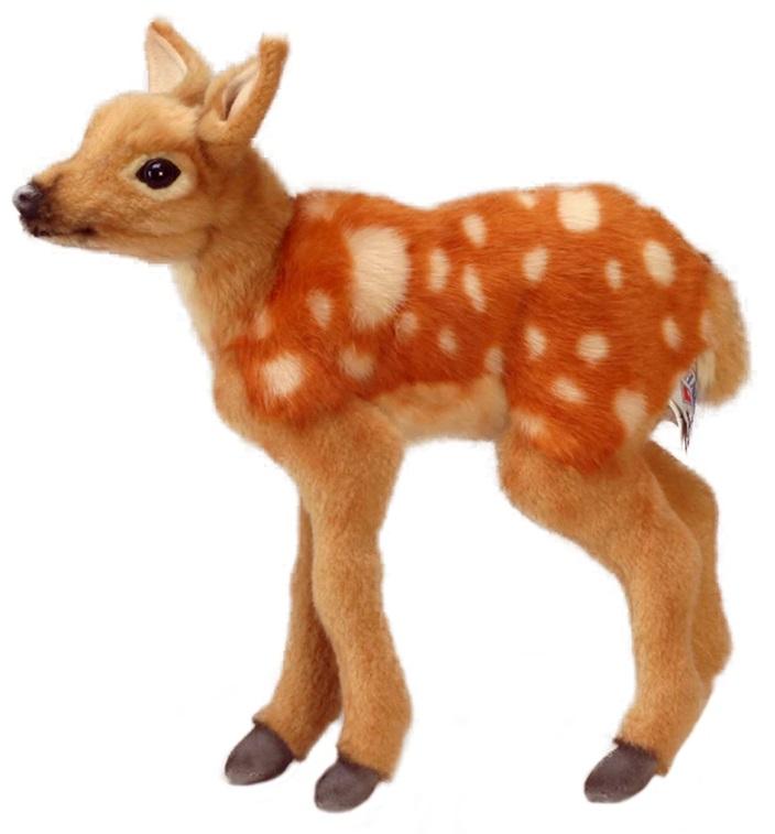 Мягкая игрушка - Олененок Бэмби, 30 см. фото