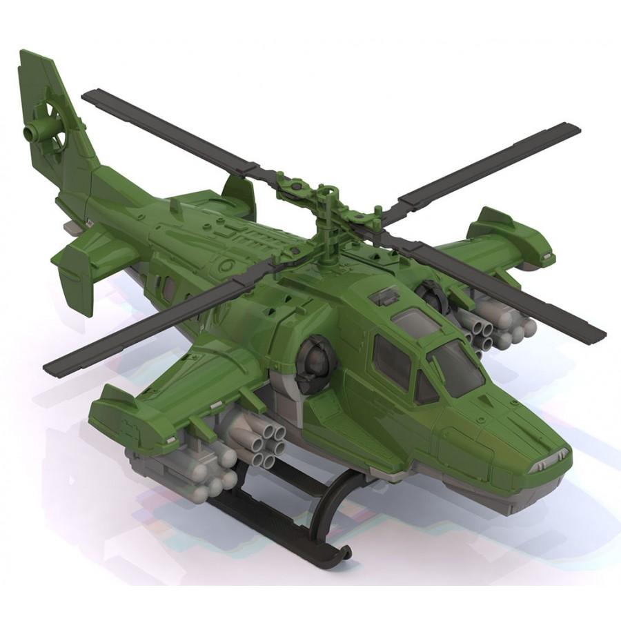 Вертолет  Военный - Пожарные машины, автобусы, вертолеты и др. техника, артикул: 165708