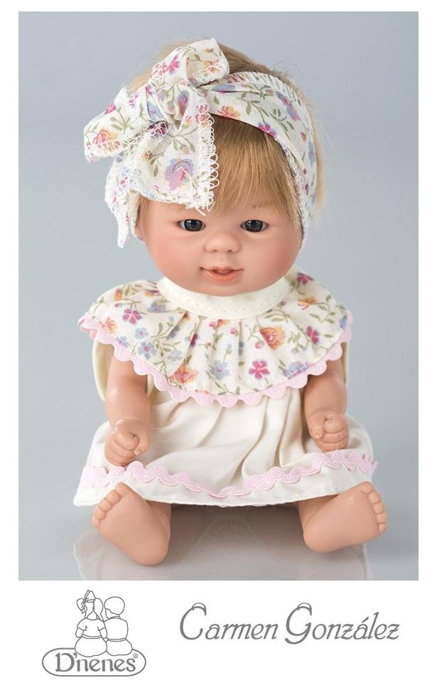 Кукла Бебетин, 21 см в платье Carmen GonzalezСкидки до 70%<br>Кукла Бебетин, 21 см в платье Carmen Gonzalez<br>