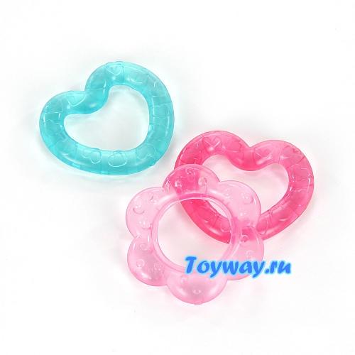 Прорезыватель для зубов ТриоДетские погремушки и подвесные игрушки на кроватку<br>Прорезыватель для зубов Трио<br>