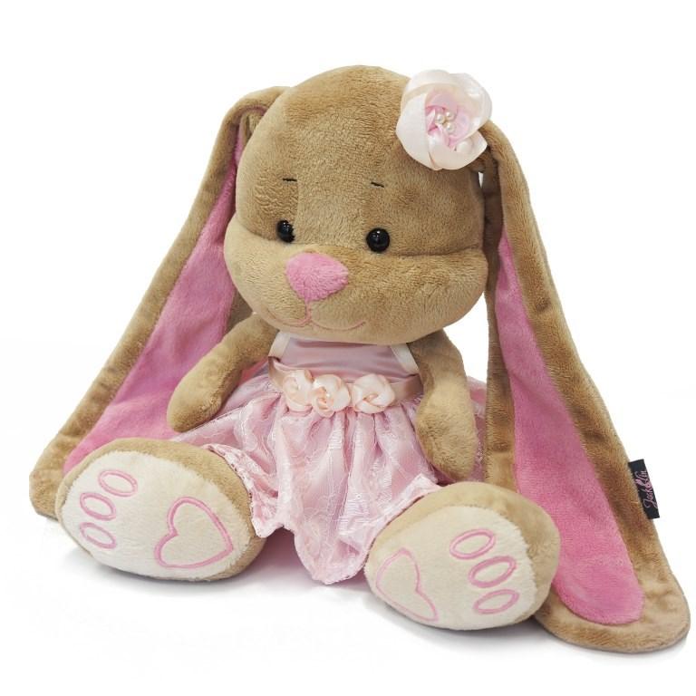 Зайка Лин, в розовом платье от Toyway