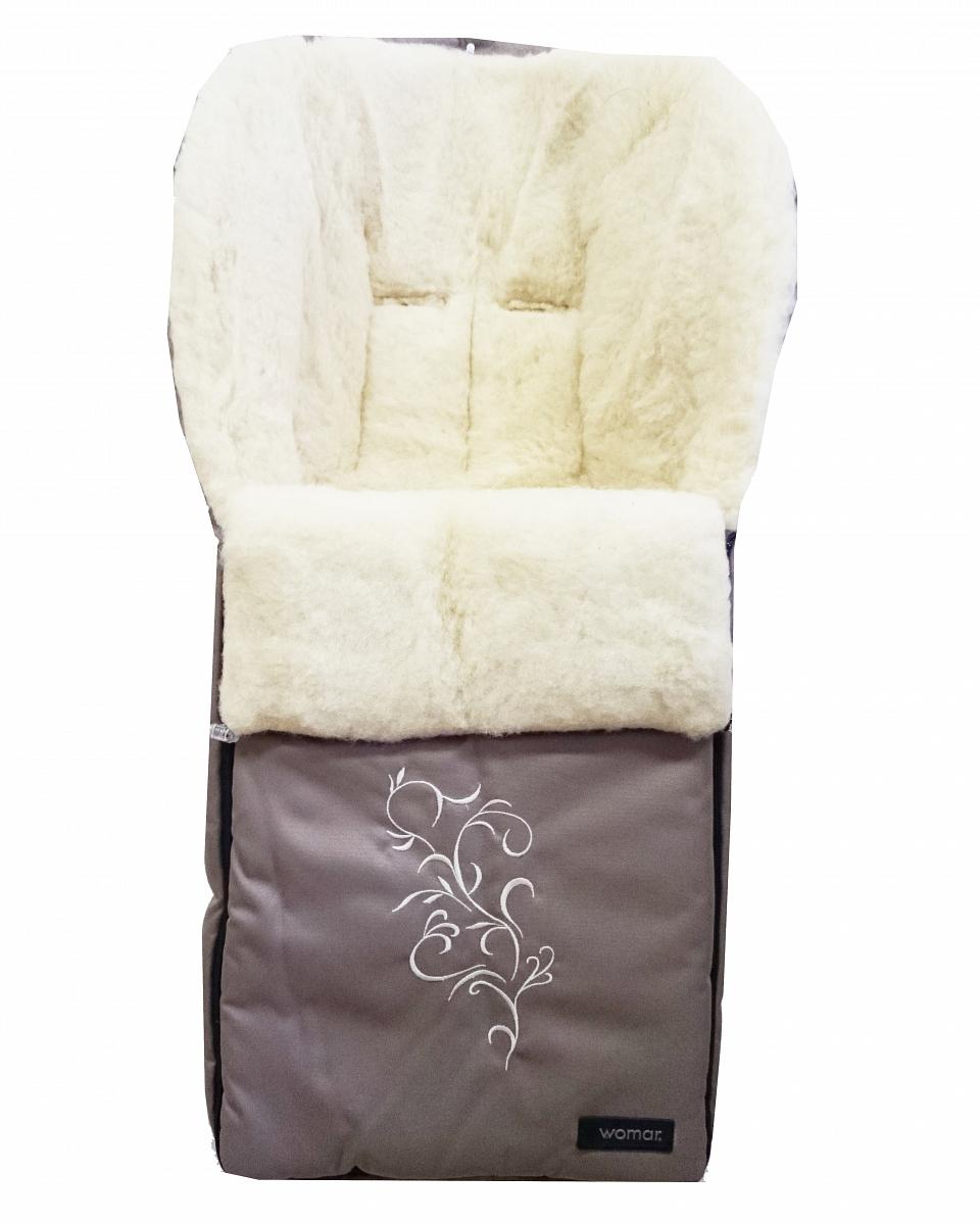 Спальный мешок в коляску №28 - Siberia, бежевыйАксессуары к коляскам<br>Спальный мешок в коляску №28 - Siberia, бежевый<br>