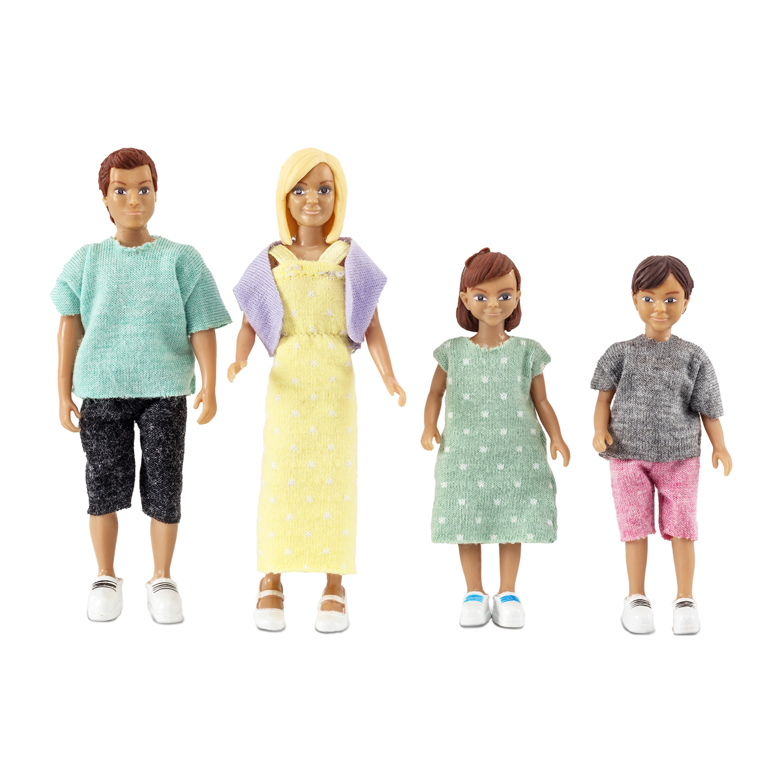 Набор кукол для домика - Классическая семьяПупсы<br>Набор кукол для домика - Классическая семья<br>