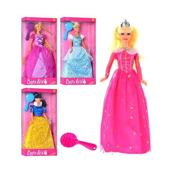Купить Кукла - Принцесса с аксессуарами, Defa Lucy