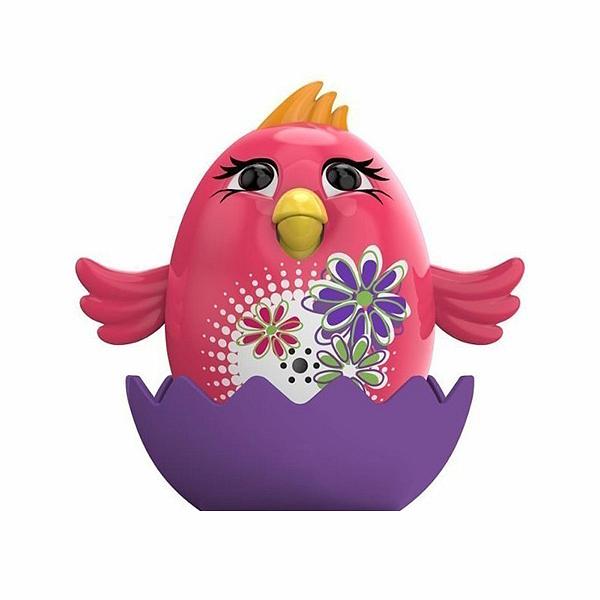 Цыпленок с кольцом Poppy, розовыйИнтерактивные птички DigiBirds<br>Цыпленок с кольцом Poppy, розовый<br>