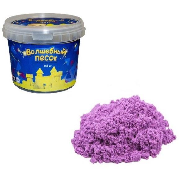 Волшебный песок – Сиреневый, 0,5 кгКинетический песок<br>Волшебный песок – Сиреневый, 0,5 кг<br>