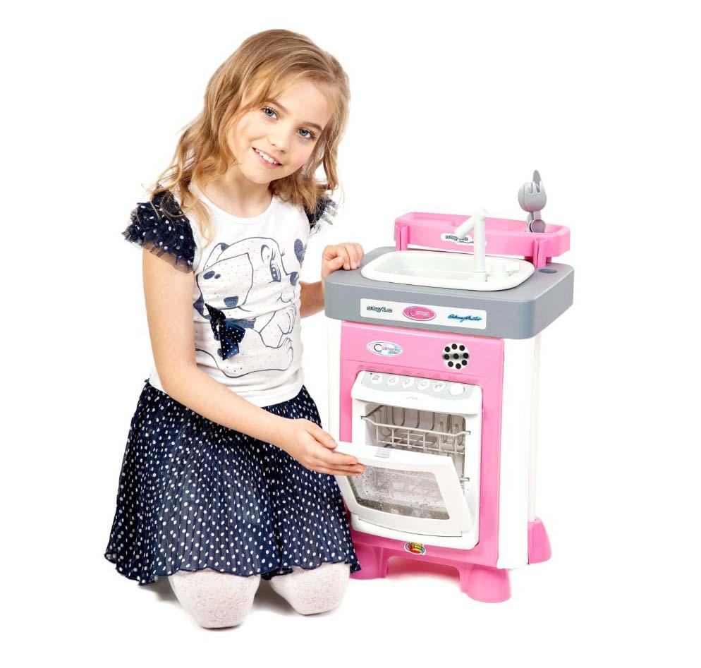 Набор Carmen №3 с посудомоечной машиной и мойкой, звукАксессуары и техника для детской кухни<br>Набор Carmen №3 с посудомоечной машиной и мойкой, звук<br>