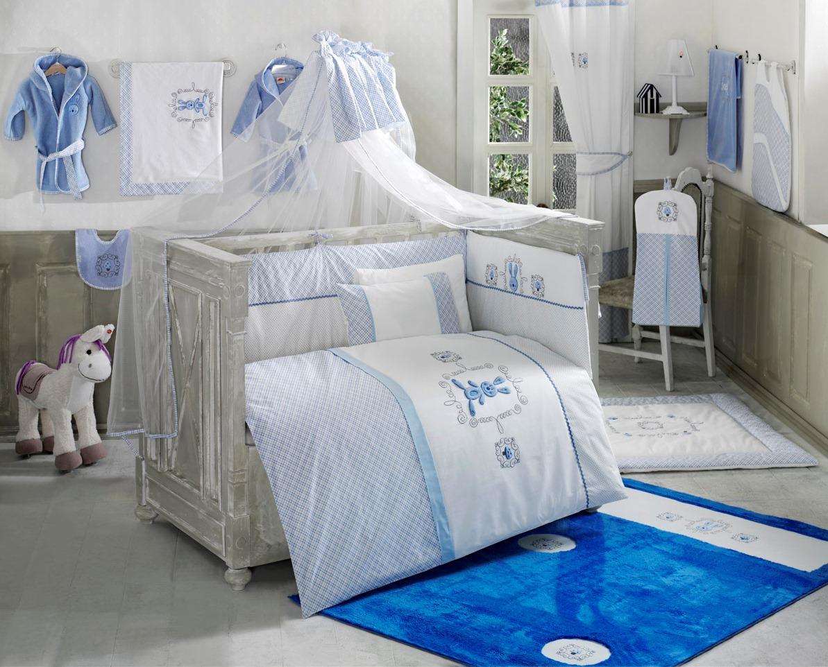 Комплект из 6 предметов – Rabitto, blue - Спальня, артикул: 171446
