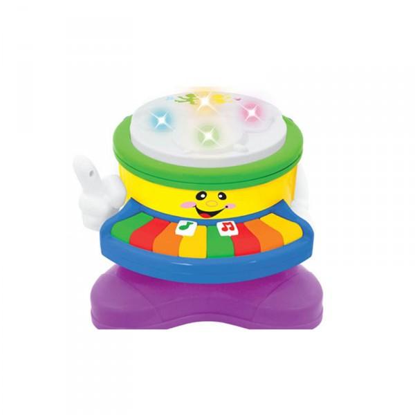 Развивающая игрушка - Барабан - пианиноРазвивающие игрушки KIDDIELAND<br>Развивающая игрушка - Барабан - пианино<br>