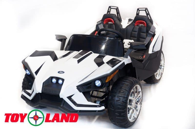 Купить Багги ToyLand белого цвета, от 3 до 8 лет, аккумулятор 12V/10Ah, четыре двигателя: 4x45W