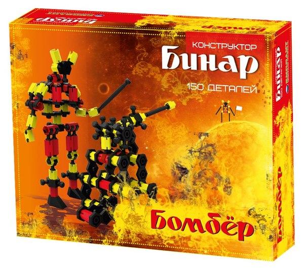 Конструктор - Бинар Бомбер, 150 деталейКонструкторы других производителей<br>Конструктор - Бинар Бомбер, 150 деталей<br>