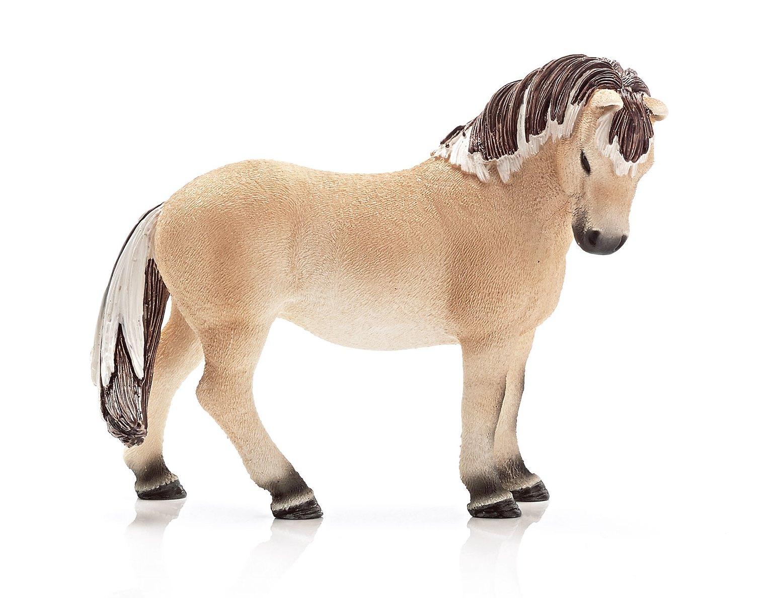 Купить Фигурка Farm Life - Фиордская лошадь, 11, 4 см, кобыла, Schleich
