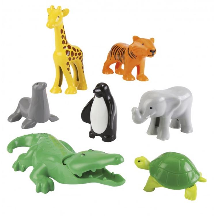 Набор фигурок животных, 7 предметов - Фигурки животных, артикул: 159718