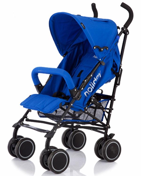 Коляска трость Holiday, BlueДетские коляски Capella Jetem, Baby Care<br>Коляска трость Holiday, Blue<br>
