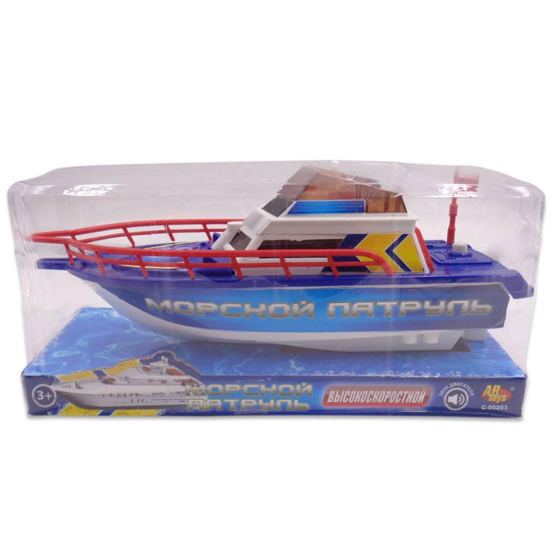 Электромеханический катер - Морской патрульКорабли и катера в ванну<br>Электромеханический катер - Морской патруль<br>
