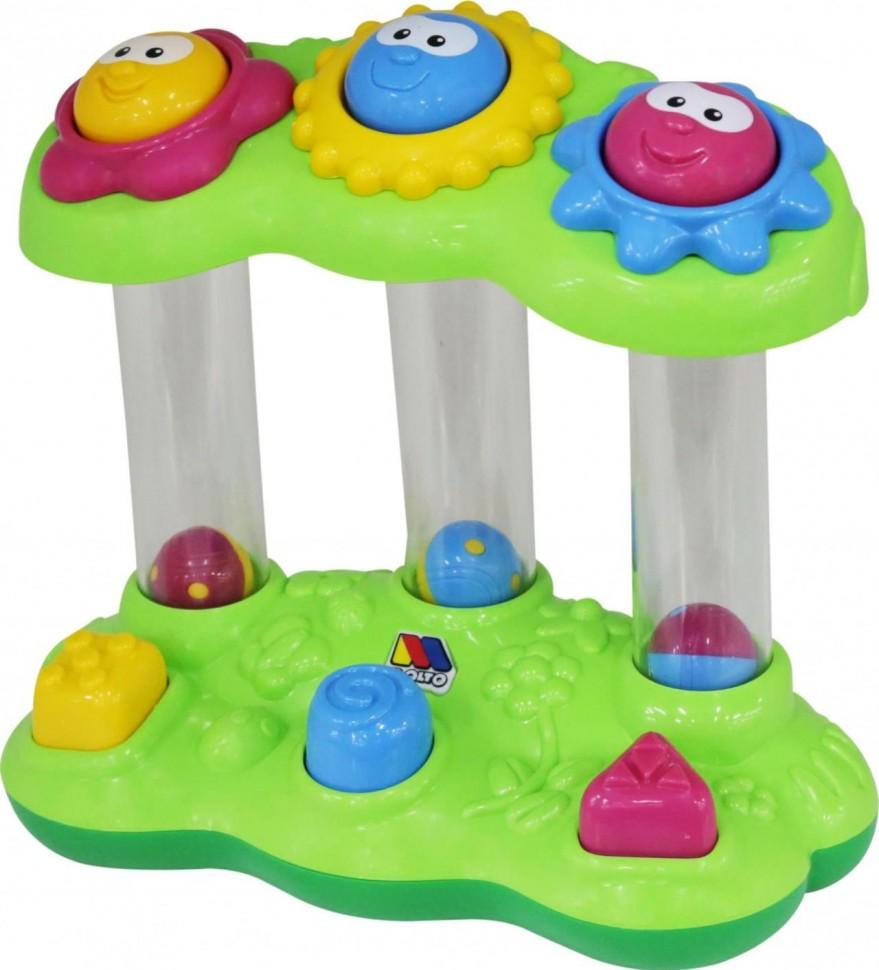 Развивающая игрушка - Забавный сад, в сеточке фото