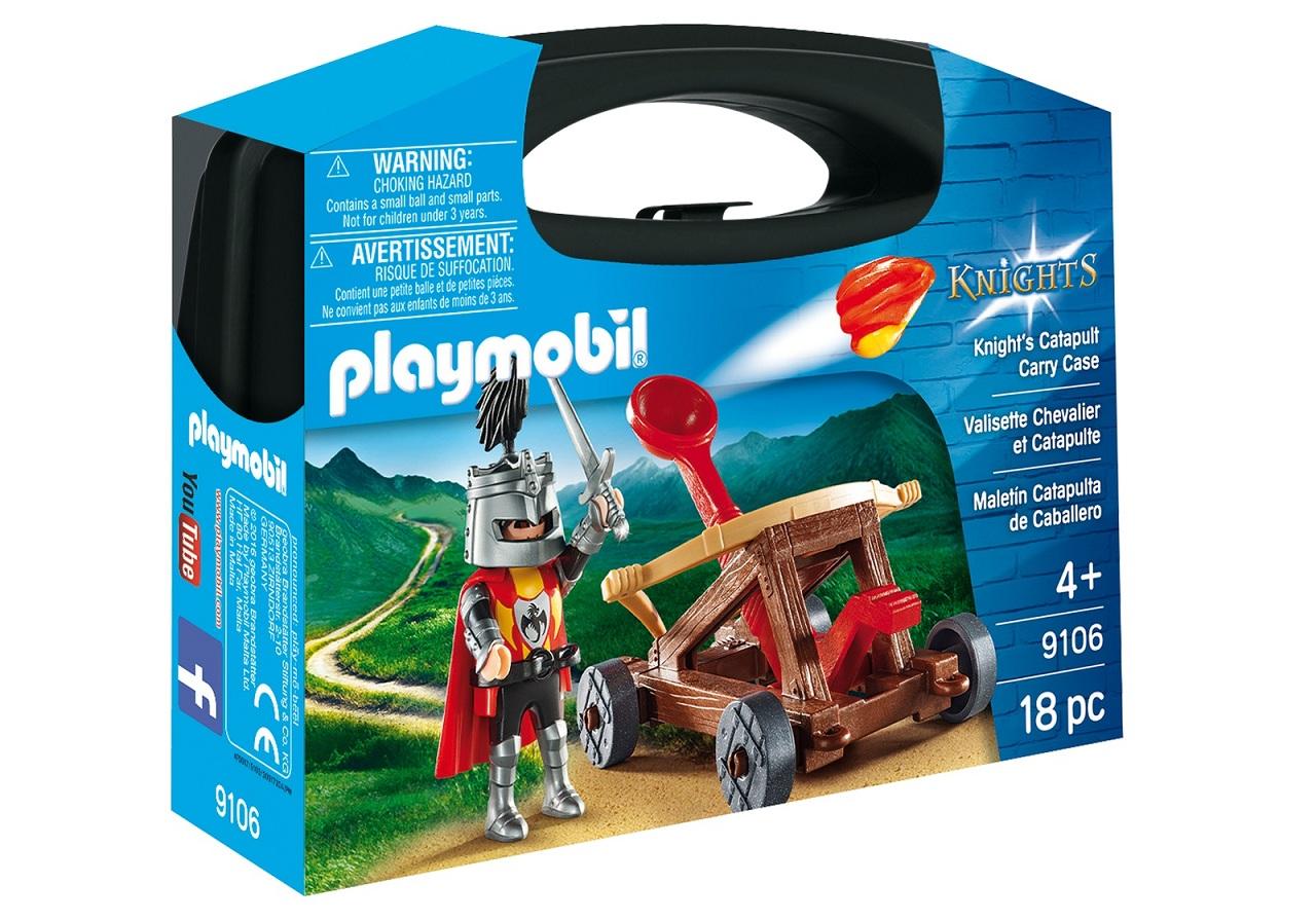 Купить Игровой набор из серии - Возьми с собой: Рыцарь с катапультой, Playmobil