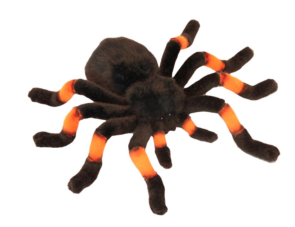 Мягкая игрушка – Тарантул, оранжевый, 30 см от Toyway