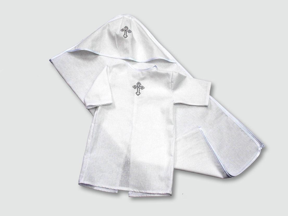 Крестильный набор, белый от Toyway