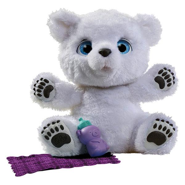 Купить Мягкая игрушка FurRealFrends - Полярный медвежонок, Hasbro