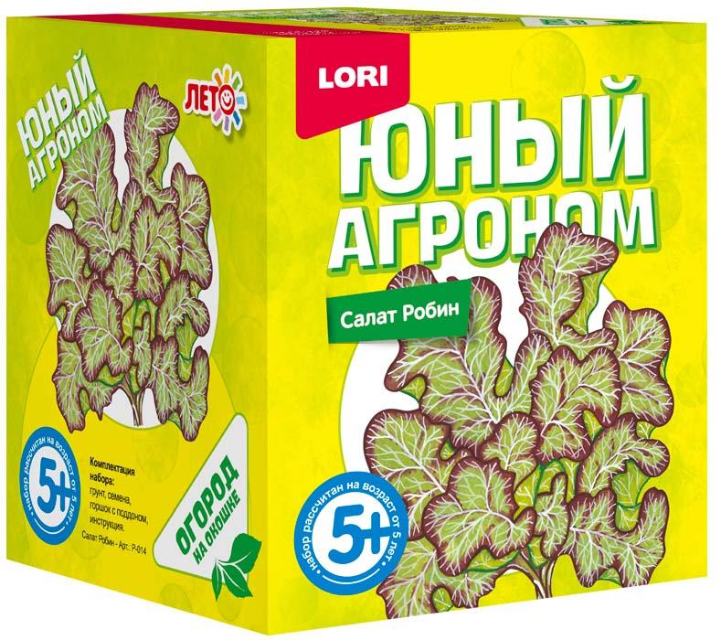 Набор Юный агроном - Салат РобинНаборы для выращивания растений<br>Набор Юный агроном - Салат Робин<br>