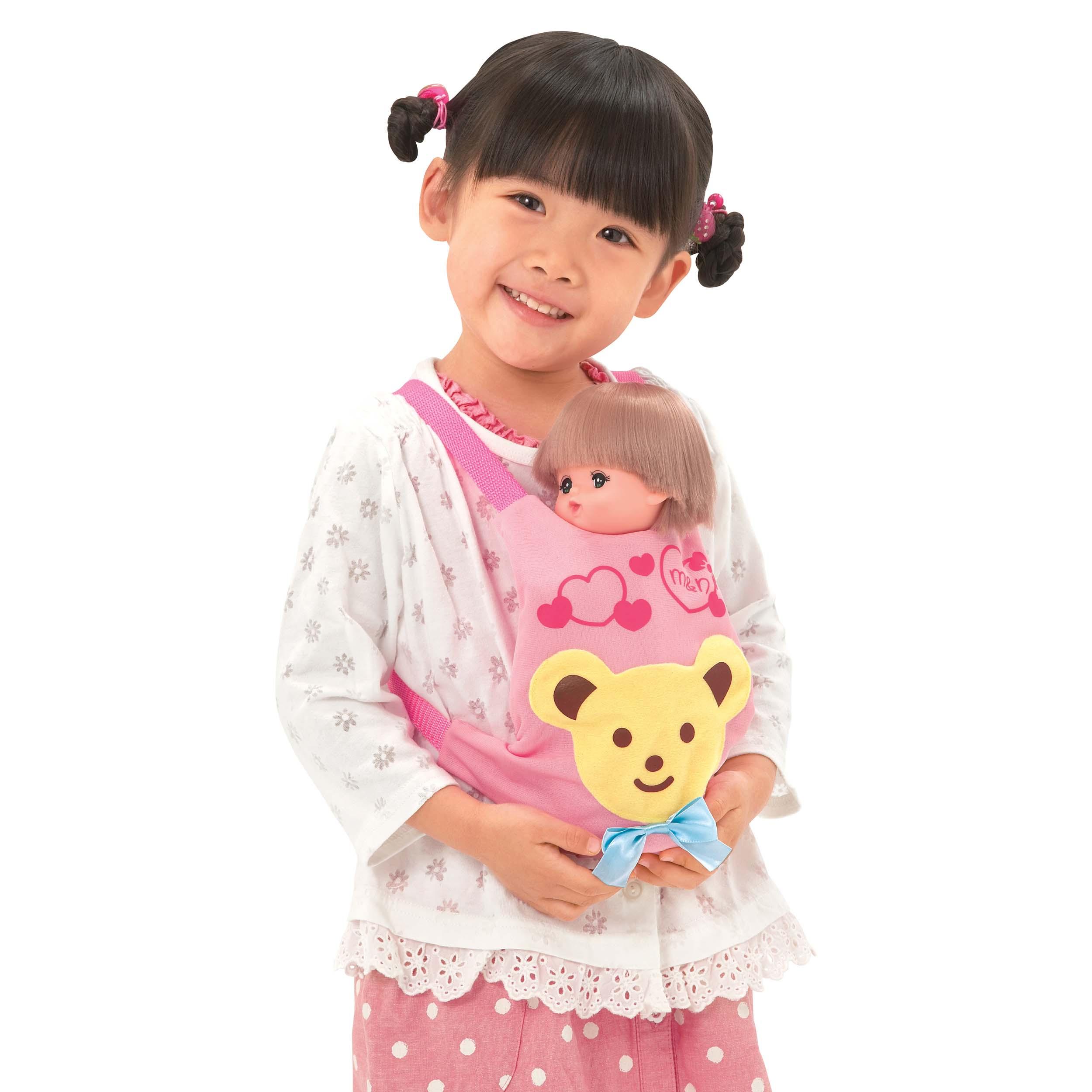 Рюкзак-переноска для куклы Мелл – Медвежонок