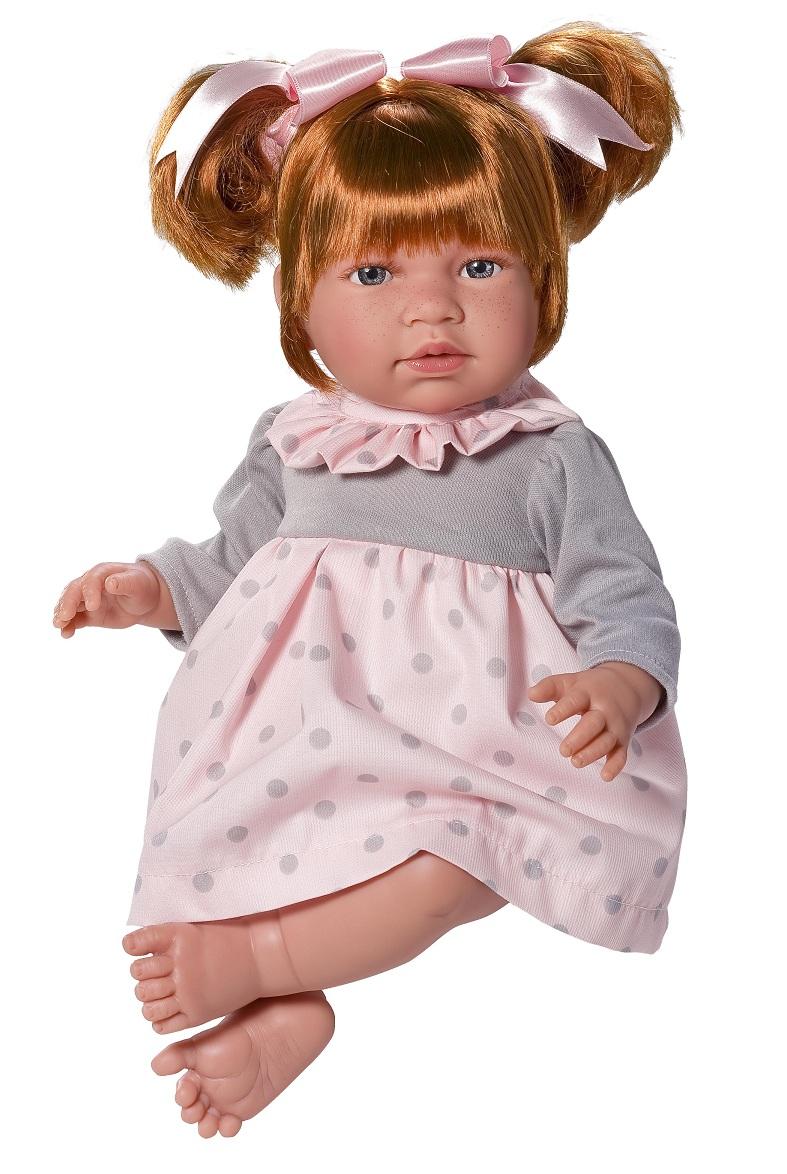 Кукла Нора в розовом платьице, 50 см.Куклы ASI (Испания)<br>Кукла Нора в розовом платьице, 50 см.<br>